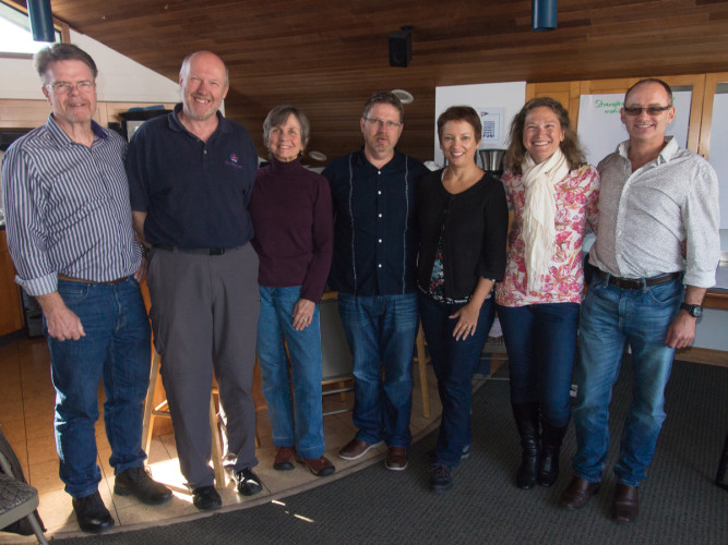 BCA Board of Directors from left to right: Glen Wilson, Boudewijn Neijens, Donna Sassaman, Blair Tweten, Florence Viher, Jennifer Handley and Magnus Murphy.