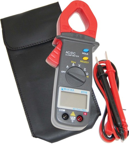 A good multimeter, such as this compact unit from Blue Sea, is invaluable when it comes to tracking down wiring problems related to corrosion.