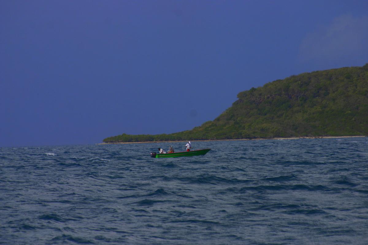 fishermen off guadeloupe