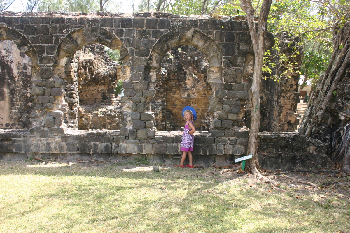 Ruins of Fort Rodney, St Lucia