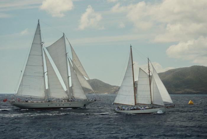 A very close finish Antigua