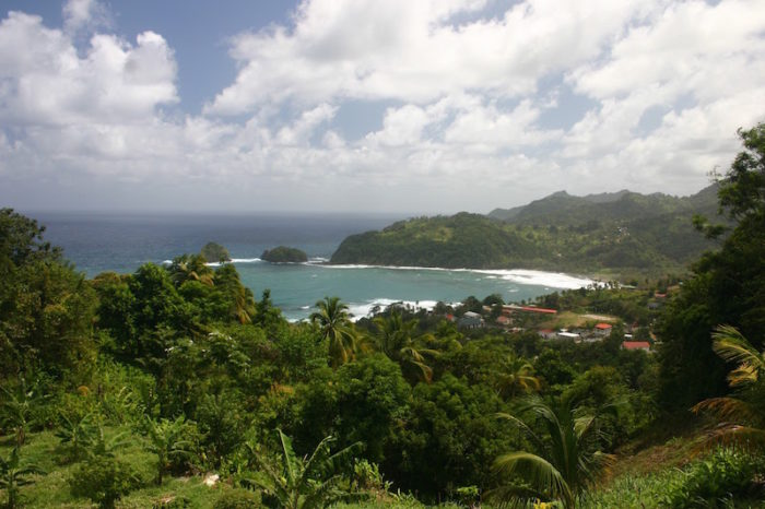 The Wild East Coast of Dominica - Better seen from a hire car than from your boat