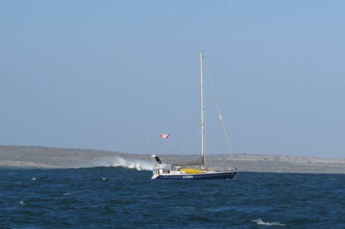 Ultegra at anchor in Bahia San Quintin